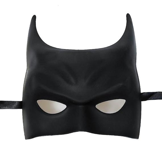 Black Batman Style  Masquerade Mask