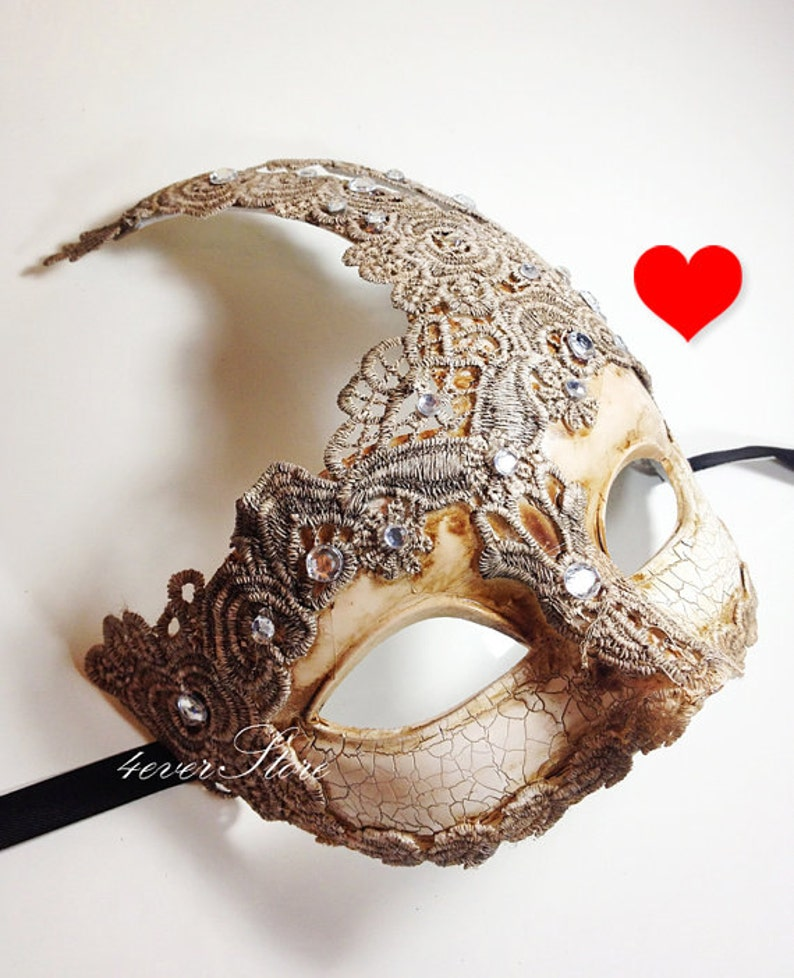 Extra 10% OFF Venetian Goddess Masquerade Mask Made of Resin image 0