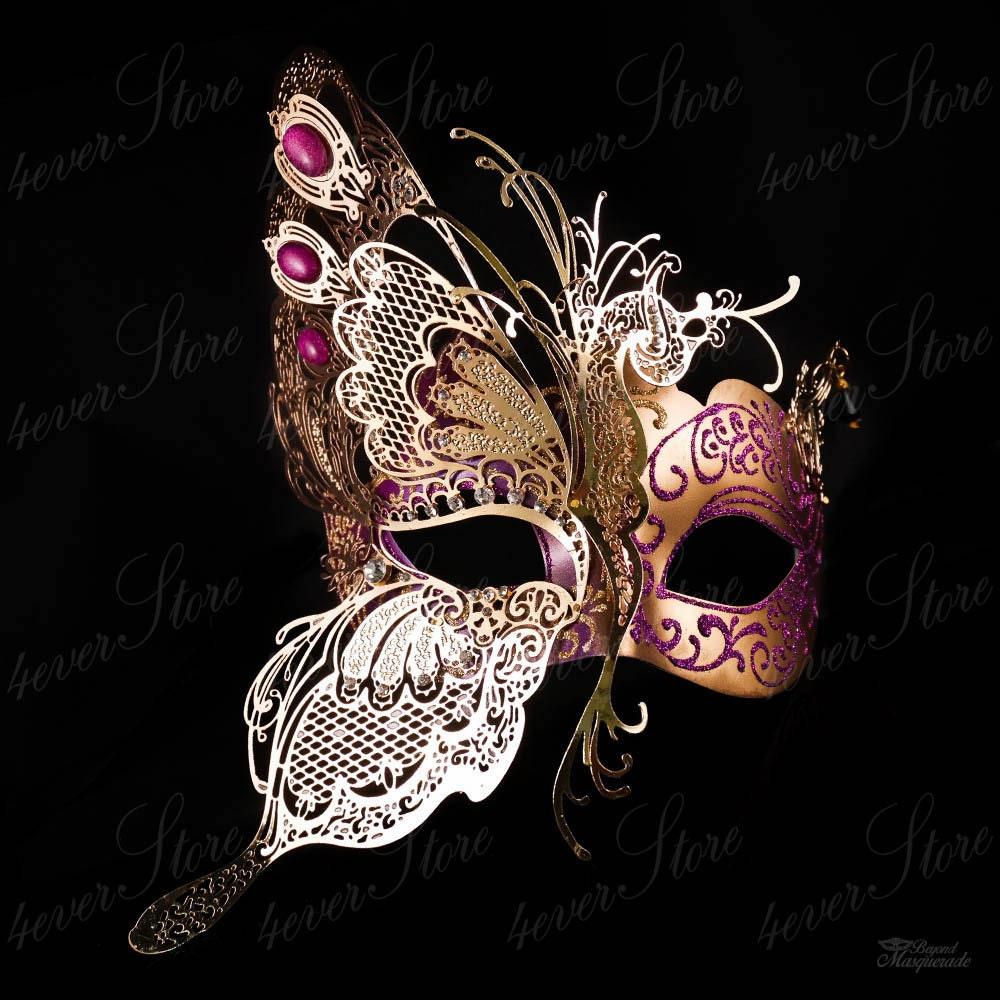 Máscara de mascarada máscara de mariposa elegante máscara de