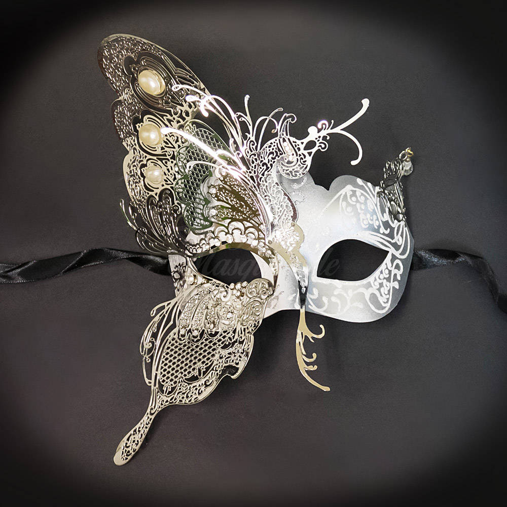 Dream Butterfly Couples Masquerade Mask Couples Set
