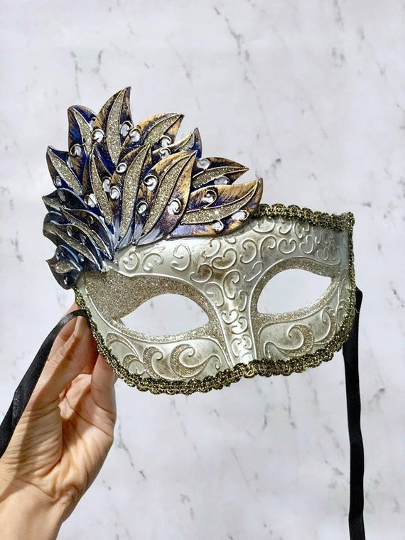 MASQUERADE HALLOWEEN BLACK LACE HEN PARTY EYE MASK ON A STICK FOR GLASSES WEARER
