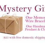 MYSTERY GIFT: One memory wire bracelet + One Necklace