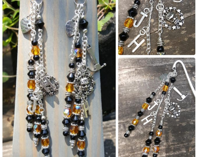 Beaded Bookmark: Beyond Ecstasy Themed