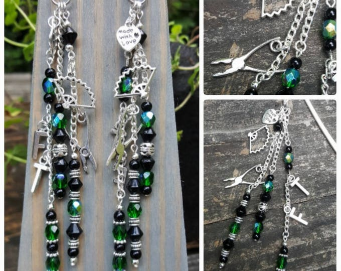 Beaded Bookmark: Beyond Addiction Themed