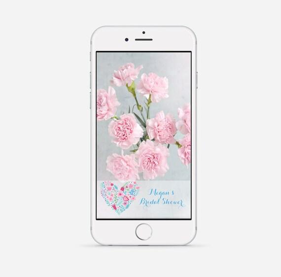 bridal shower snapchat geofilter wedding snapchat filter | etsy