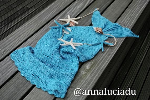 Crochet Mermaid Blanket Mermaid Cocooncrochet Mermaid Tail Etsy