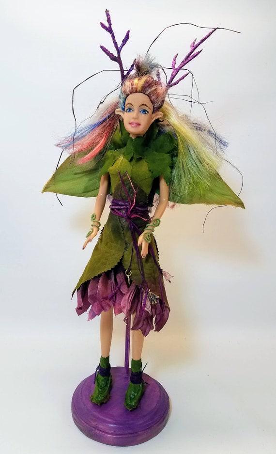 Celtique Dart Poupée Des Etsy Déesse Ou Repaint Fée Bois Barbie Ud770q