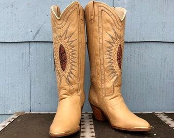 6043dfb580c Vintage cowboy boots | Etsy