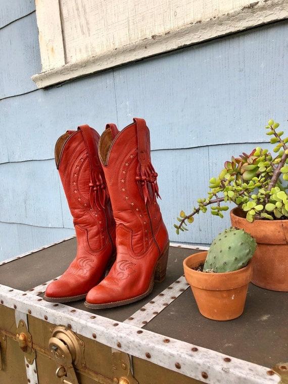 Vintage Miss Capezio Cowboy Boots/ Capezio Boots/