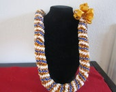 Kika (Cigar) Hawaiian Satin Ribbon Lei