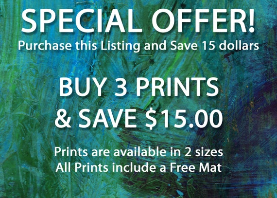 Sale Mix Match Special Offer Save 15 Dollars 3 Etsy