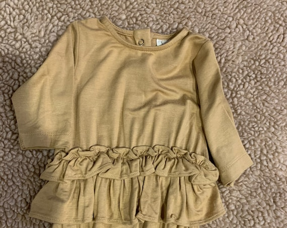 0-3 Kate Quinn Bamboo Ruffle Romper for Dylan and Carissa