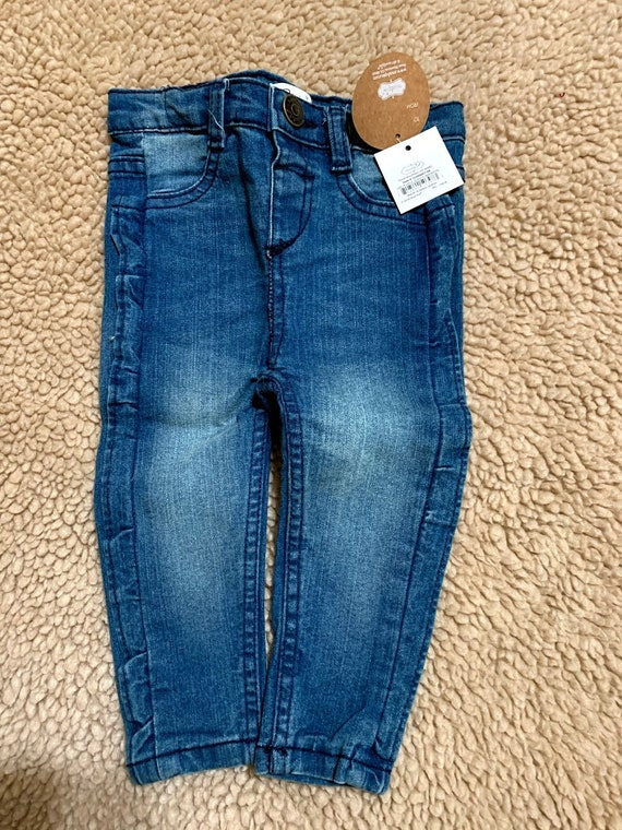 6-9 mo Mud Pie Ruffle leg jeans for Carissa and Dylan
