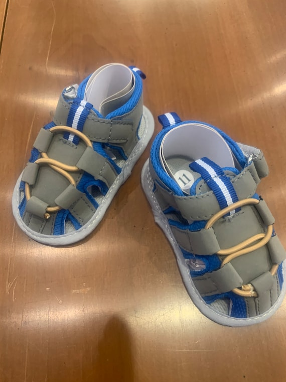 Baby boy sandals for Gabrielle and Tyler Hindman