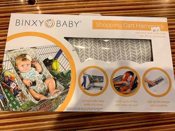 Binxy Baby Shopping Cart Hammock for Dylan and Carissa