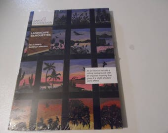 """Anita Goodesign """"Landscape Silhouettes""""  CD for machine embroidery"""
