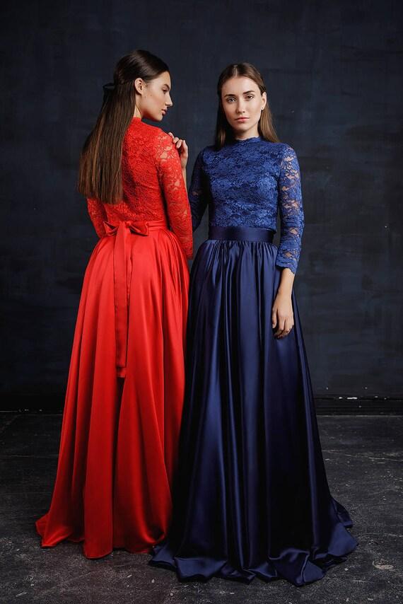 Evening Maxi Homecoming Dress Romantic Long Prom Dress Couture Floral Maxi Dress Floor Length Wedding Guest Dress Fit Flare Dress