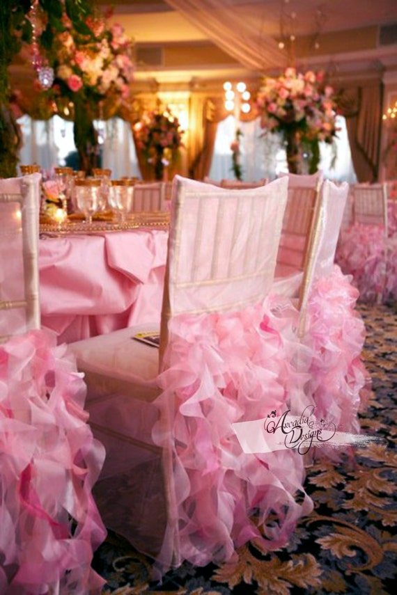 Astounding Curly Willow Bridal Chair Cover Wedding Ruffle Chair Decoration For Event Reception Bridal Shower Wedding Engagement Decor Ready To Ship Beatyapartments Chair Design Images Beatyapartmentscom