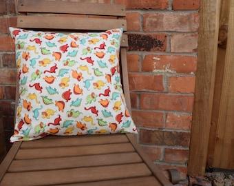 Dinosaurs Cushion Cover, Nursery Decor, Dinosaur Gift, Dinosaur Cushion, Dinosaur Pillow, Handmade Cushion, Handmade Pillow