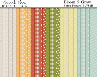 Bloom & Grow Extra Papers