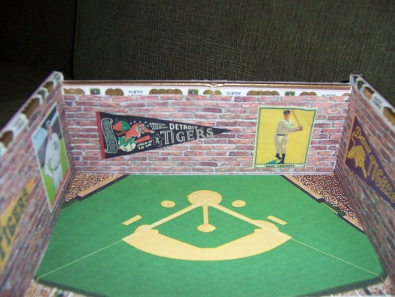 Tigers Cigar Box Baseball Stadium
