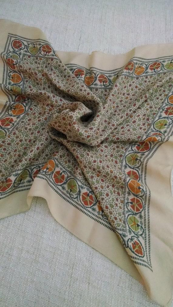 Liberty of London English Tea Pottery Pattern Silk