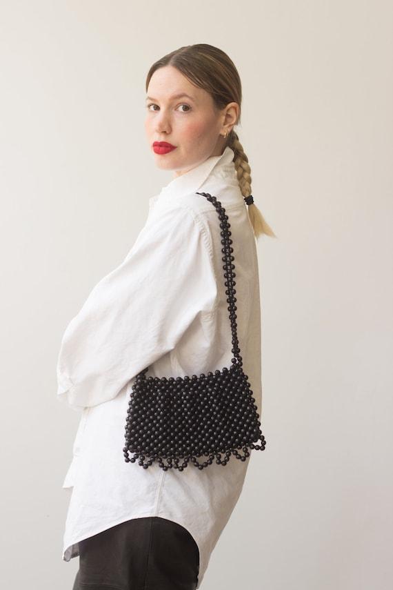1960s Beaded Italian Shoulder Bag