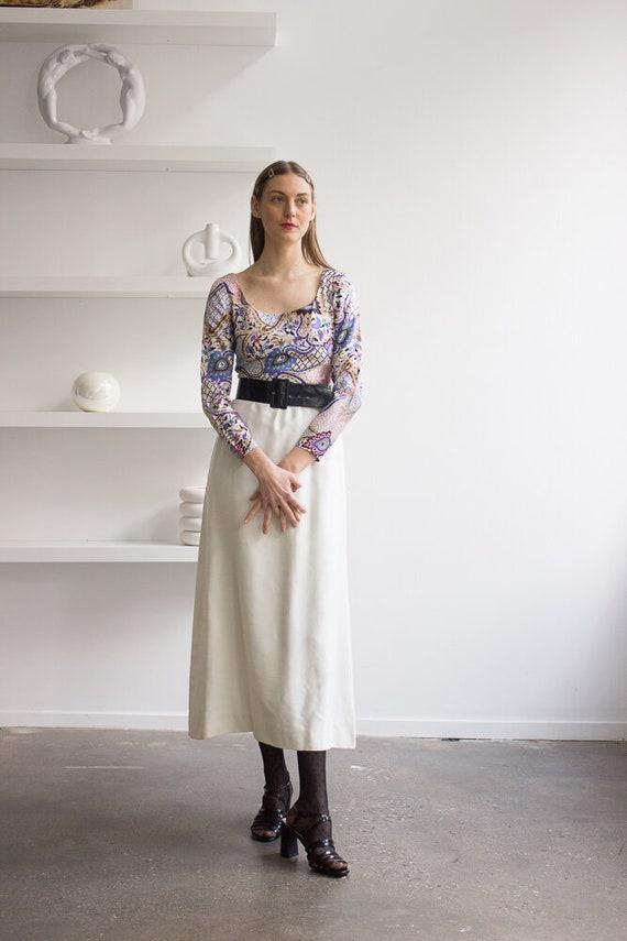 1960s Jean Varon Silk Gown