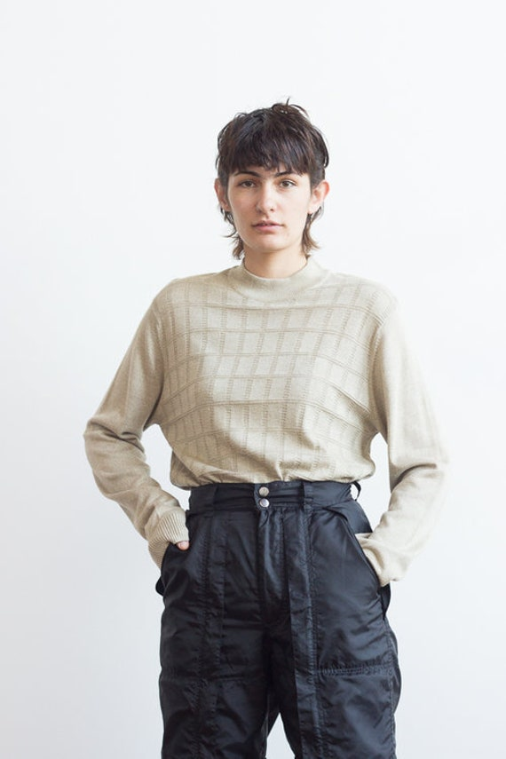 1980s Perry Ellis Silk Blend Knit