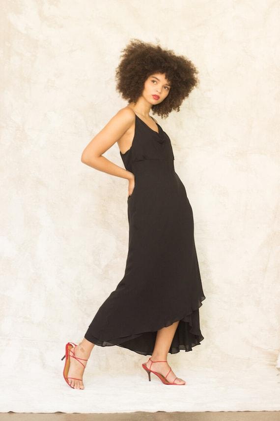 1990s Ann Taylor Silk Bias Cut Slip Dress