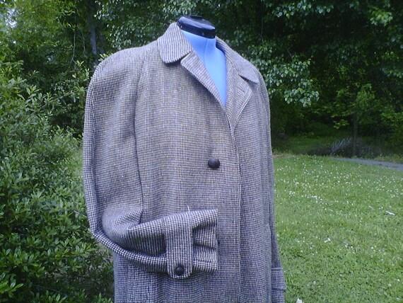 SALE  Fintex Wool Mens X Long Dress Coat with Zip-