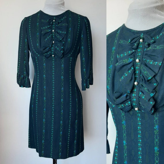 Vintage 1960's go go dress, DollyRockers Made in E