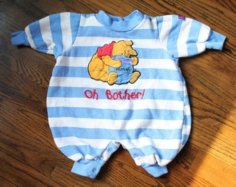 Pooh Bear Onesie   Pajamas  3 Months   6 Months 81464056a2a4