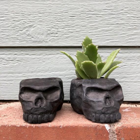 PeaboSkull Skull Planter 2018 - Hypertufa