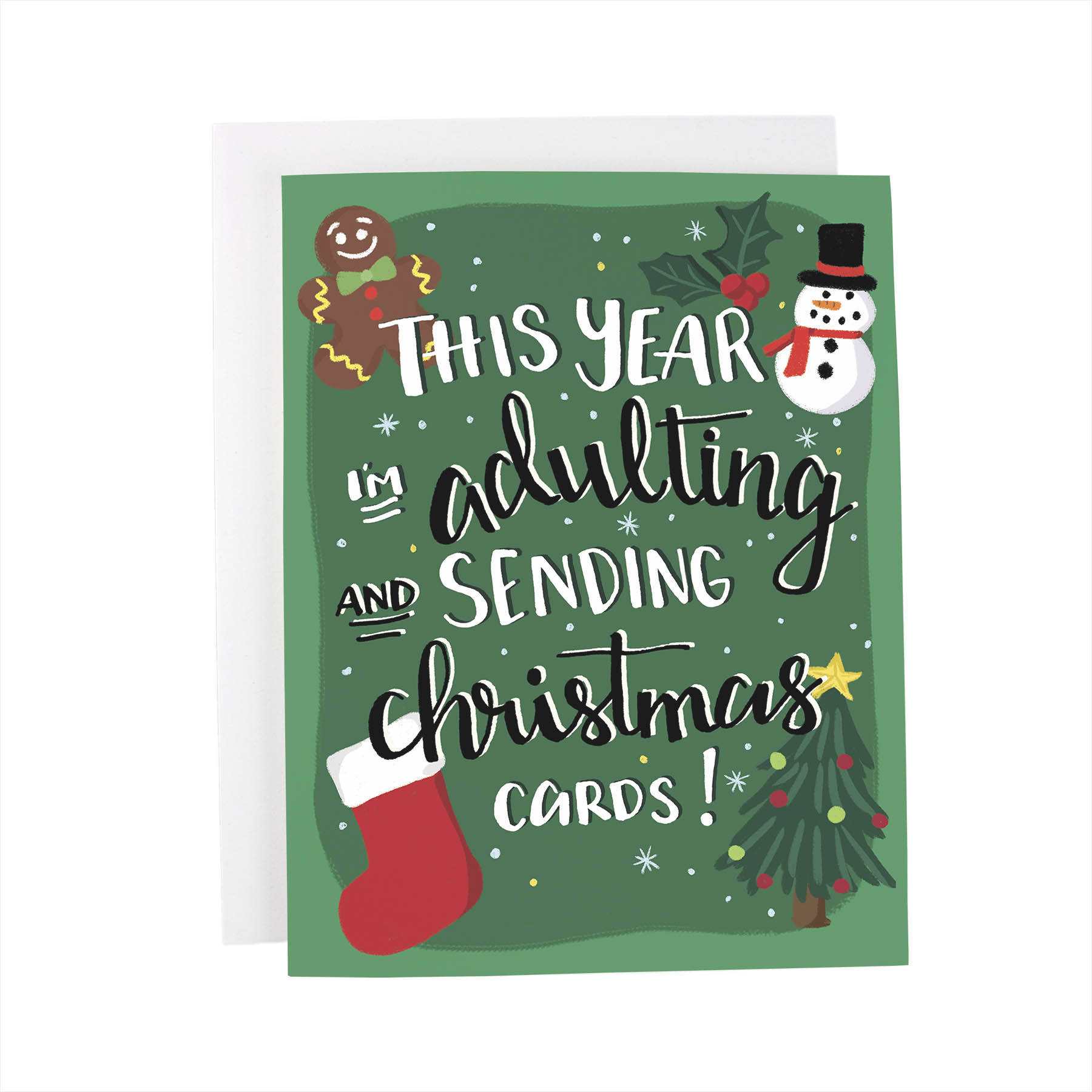 This Year I\'m Adulting and Sending Christmas Cards
