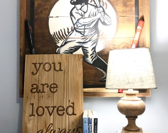 You are loved always -handmade and hand engraved