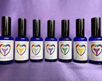 Angel Aura Mist channeled spray with Free Positivity card