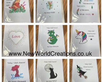 Special offer Greetings card in A5 or A6 size with envelope BUY any 4 cards and GET 5th FREE