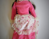 A Beautiful Antique Bisque Porcelain Dianna Effner SAW 94 - Hand Made - Reproduction Doll