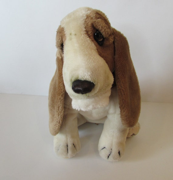 Small Soft Hush Puppies Dog With Damage To Nose Linden Etsy