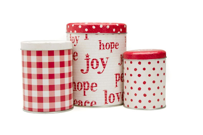 In Stock OVERNIGHT DELIVERY Tin Set of 3 Moda designed by Sweetwater