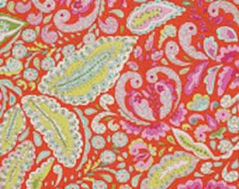 DENA DESIGNS 1 yard Jocelyn in Orange / Pretty Little Things FreeSpirit Fabric