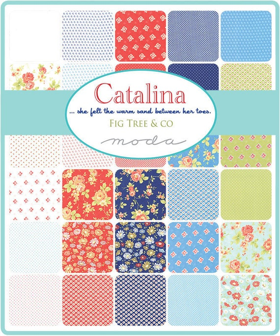 Chantilly 40 Fat Quarter Bundle by Fig Tree /& Co for Moda Fabrics