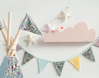 garland + the garland + pennant necklace + guirlande + kinder party + birthday party + wall decoration