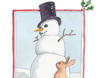 Christmas Dreams Holiday Card