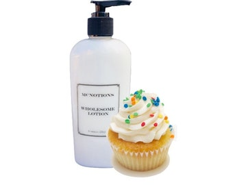 Personalized Birthday Cake Lotion Gift With Customized Label For A Unique And Of Hand Body