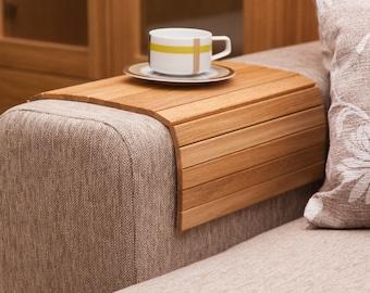 Ottoman Wood Tray OAK, Sofa Tray Table, Side Table, Wood Ottoman Tray,Sofa Table,Wooden Ottoman Tray,Wood Breakfast Tray,Laptop tray,TV Tray