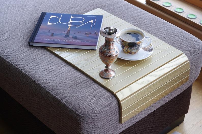Sofa Arm Tablett GOLD / Laptop-Fach / Sofa Tablett-Tisch ...