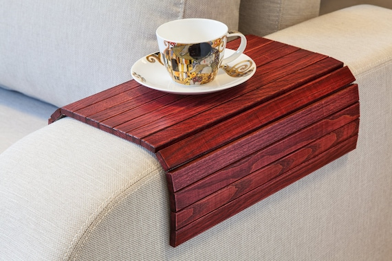 Excellent Sofa Tray Table Vintage Wine Red Couch Tray Rustic Coffee Table Tray Rustic End Table Couch Arm Table Glass Holder Ottoman Wooden Trays Short Links Chair Design For Home Short Linksinfo