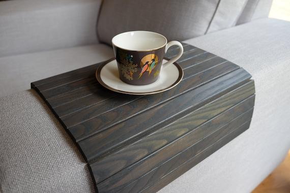 Sofa Tray Table GREY / Armrest Tray / Sofa Arm Tray / Unique | Etsy